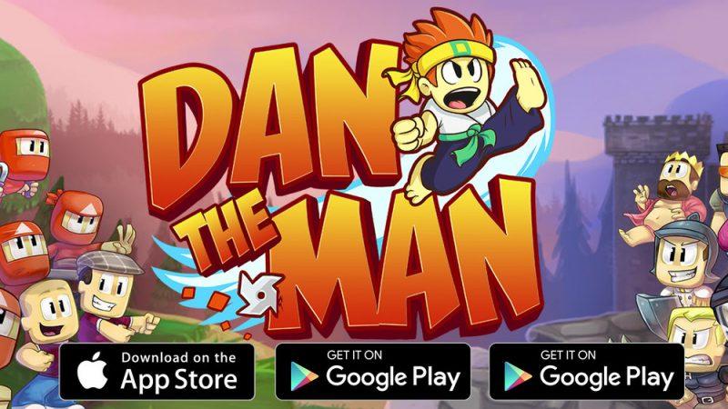เกมมือถือ Dan the man : Action Platformer